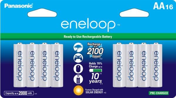 eneloop AA 16-pack