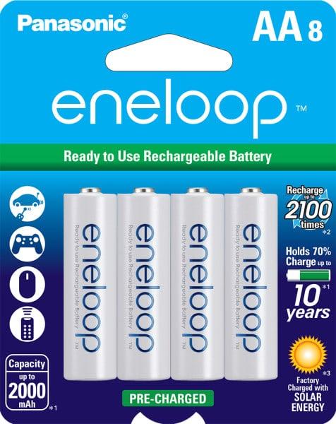 eneloop AA 8-pack