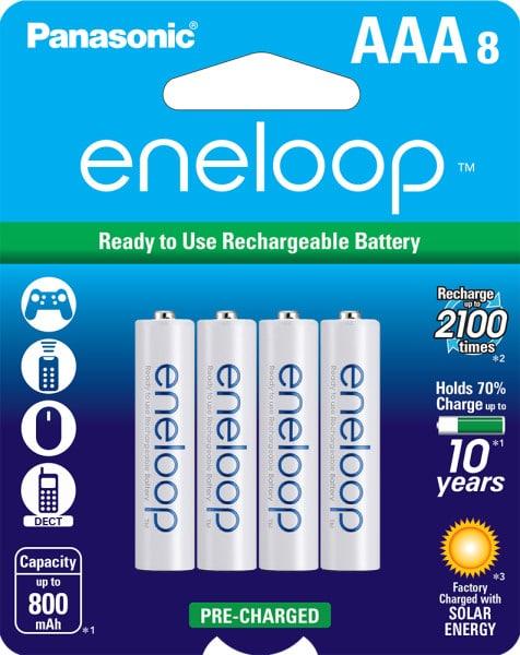 eneloop AAA 8-pack
