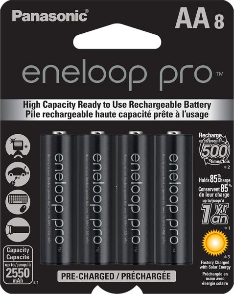 eneloop pro AA 8-pack