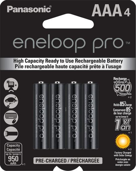 eneloop pro AAA 4-pack