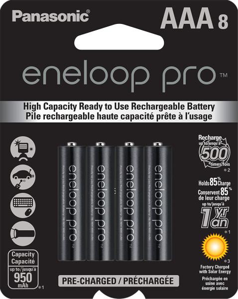 eneloop pro AAA 8-pack
