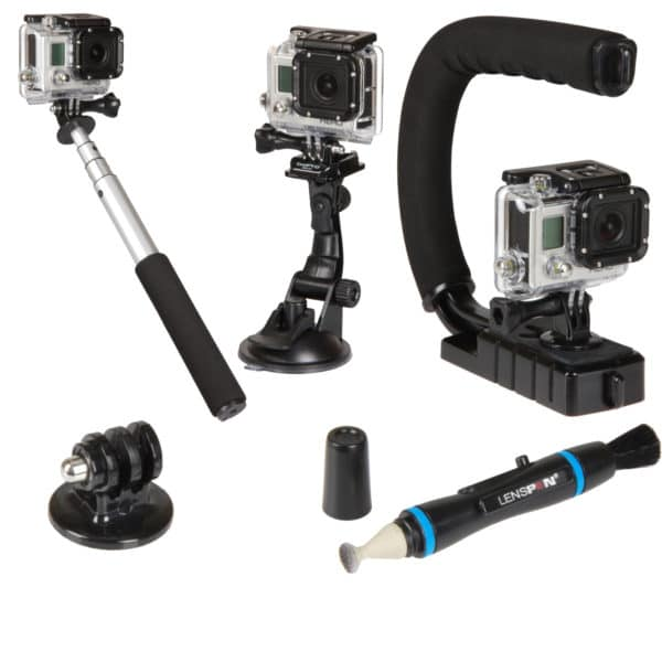 5pc Action Camera Kit