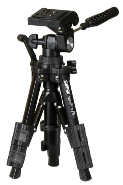 MaxiPro Plus Tabletop Tripod