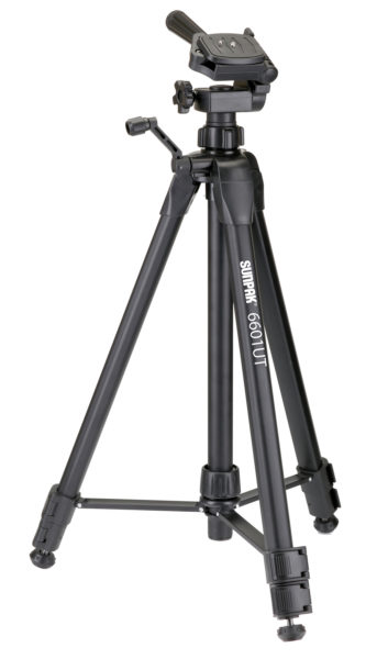 6601UT Photo and Video Tripod