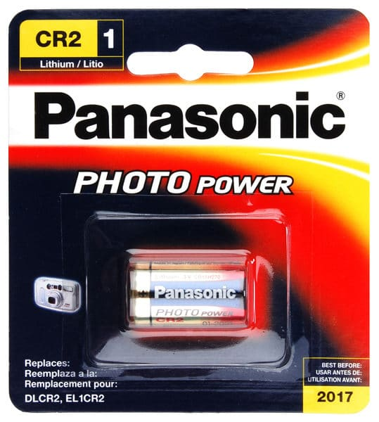 Panasonic CR2 Lithium 1 Pack