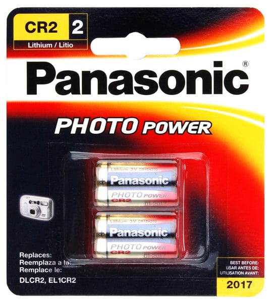 Panasonic CR2 Lithium 2 Pack
