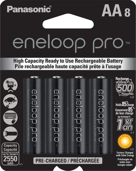 eneloop pro AA 8 Pack