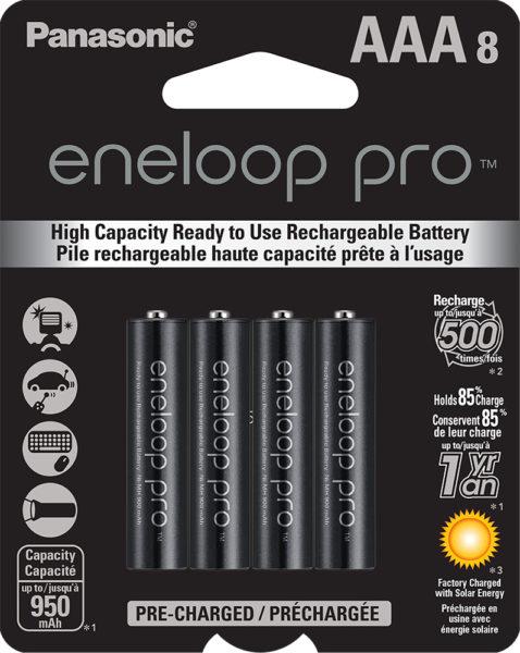 eneloop pro AAA 8 Pack