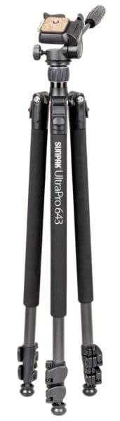 UltraPro 643 Carbon Fiber Tripod