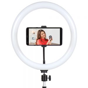 "Sunpak 12"" Bi-color LED Ring Light Kit"
